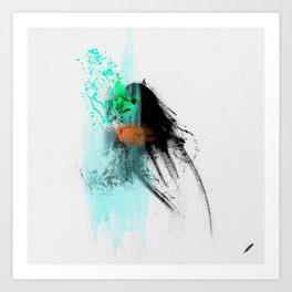 Bartira's   Olhar 3 Art Print