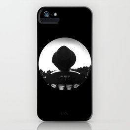 Waiting for the Storm iPhone Case