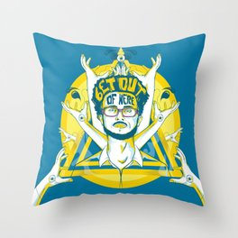 Get out of here Throw Pillow