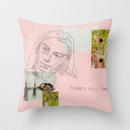 there's still time Throw Pillow