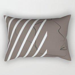 African American guys magic melanin beauty, dark skin guys, black guys, afro guys Rectangular Pillow