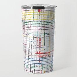 The System - pink motif Travel Mug