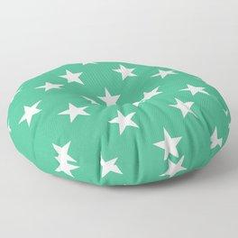 Stars (White/Mint) Floor Pillow
