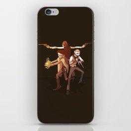 Bones Band iPhone Skin