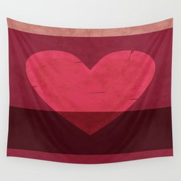 Tattered Heart Wall Tapestry