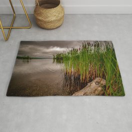 Driftwood And Cattails Rug