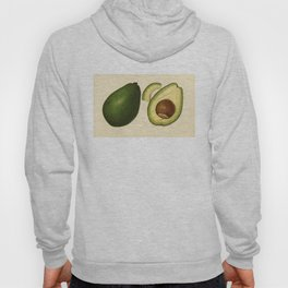 Vintage Illustration of an Avocado 2 Hoody
