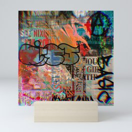 Lies Mini Art Print