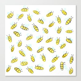 Bumble BaeBees Canvas Print