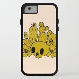 Skull and Cactus iPhone Case