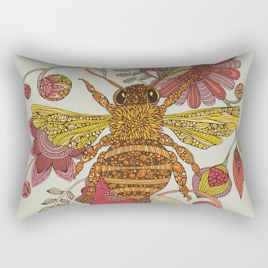 Bee awesome Rectangular Pillow