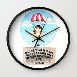 One Precious Life Wall Clock