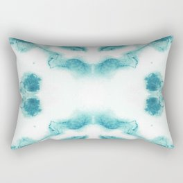 Blue & White Chalcedony Rectangular Pillow