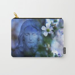 Jesus Christ In The Garden By Annie Zeno Carry-All Pouch