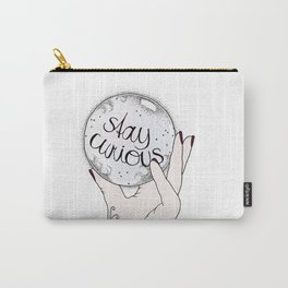 Stay Curious Carry-All Pouch