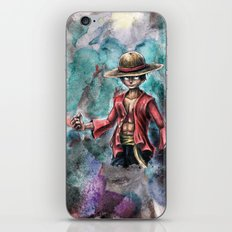 The King of Pirates a Tra-Digital Portrait iPhone & iPod Skin