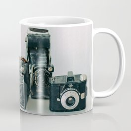Vintage old film cameras Coffee Mug