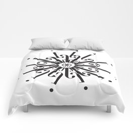 """Flower - The Didot """"j"""" Project Comforters"""