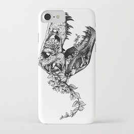 Jurassic Bloom - The Rex.  iPhone Case