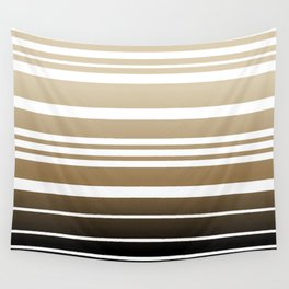 Bay Ombre Stripe: Neutral Wall Tapestry