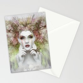 Springtime Goddess Stationery Cards