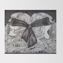 Bipolar Disorder Throw Blanket