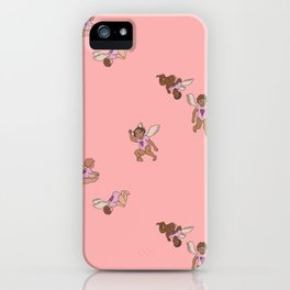 Cupid Legion Pattern- Pink iPhone Case