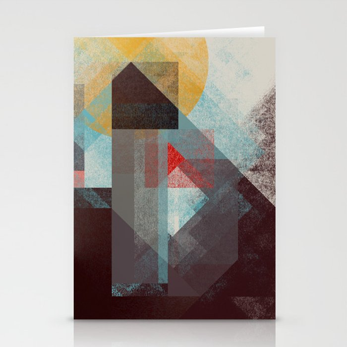Over mountains Stationery Cards