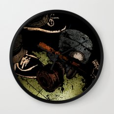 The Weapons Of War Wall Clock