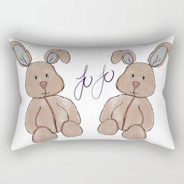 Baby Bunny Rectangular Pillow