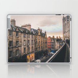 Edinburgh Sunset Laptop & iPad Skin