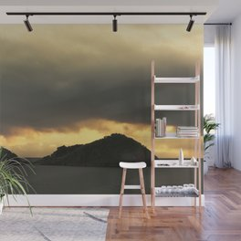 Isolated islet Wall Mural