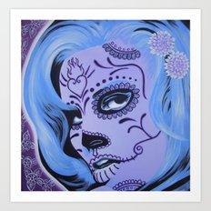 Raquel Calavera Art Print