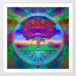 Everlasting Wonder Tree of Life Art Print