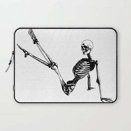 Skeleton Breakdance Laptop Sleeve
