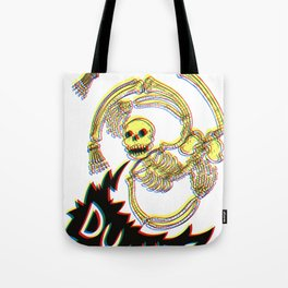 Skeleton Bro 3D Tote Bag