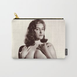 Vintage Pinup Digital Painting Carry-All Pouch