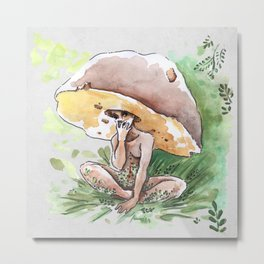 Empire of Mushrooms: Boletus Edulis Metal Print
