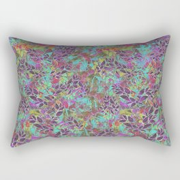 Grunge Art Floral Abstract G124 Rectangular Pillow