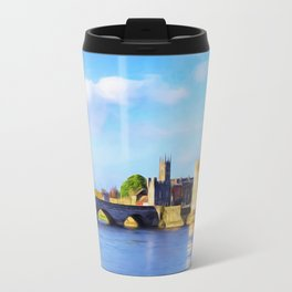 King Johns Castle and Thomond Bridge Travel Mug