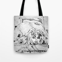 college Tote Bags featuring College Art by Jeffrey J. Irwin