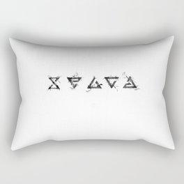 The Witcher Signs Rectangular Pillow