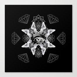 Dark Light Series Canvas Print