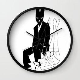 Lovely mistress Wall Clock