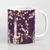 sparkle Mugs featuring Sparkle by elle moss