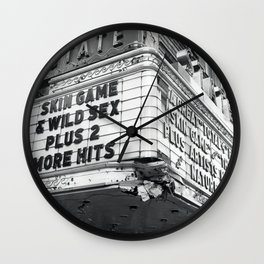Marquee State cinema Wall Clock