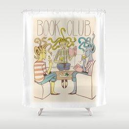 Three Furies Book Club Shower Curtain