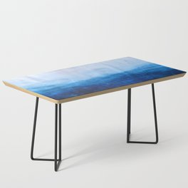 All good things are wild and free - Ocean Ombre Painting Coffee Table