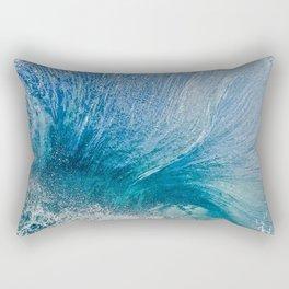 Blue Wave Flare 10-2-12  Rectangular Pillow