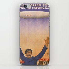 Vintage poster - CCCP iPhone Skin